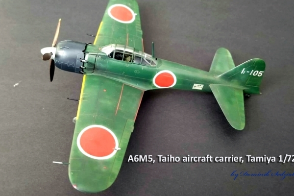A6M5, Taiho aircraft carrier