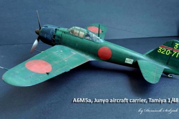 A6M5a, Junyo aircraft carrier