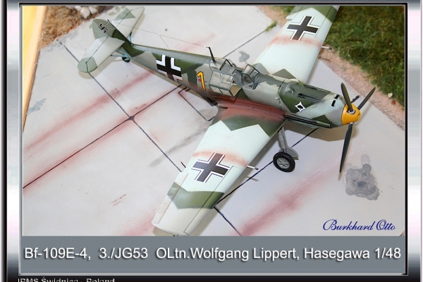 Bf-109E-4 OLtn Wolfgang Lippert