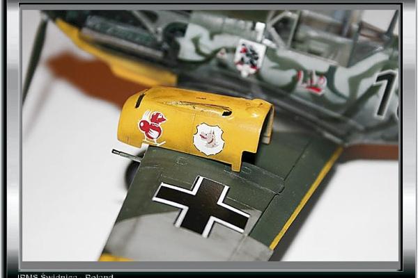 Bf-109E-7, III/ JG77
