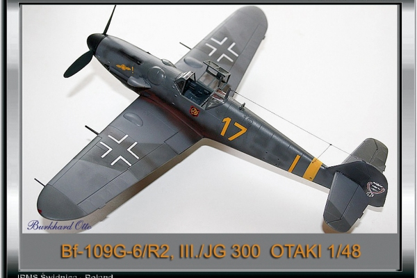 Bf-109G-6R2 JG 300