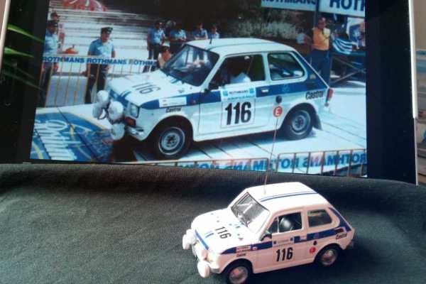 "Fiat 126p \""Kultowe auta PRL\"""