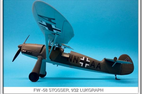 Focke-Wulf FW-58 STOSSER 1/32 LUKGRAPH
