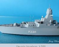 Fregata HAMBURG 1:700