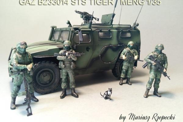 GAZ B233014 STS TIGER
