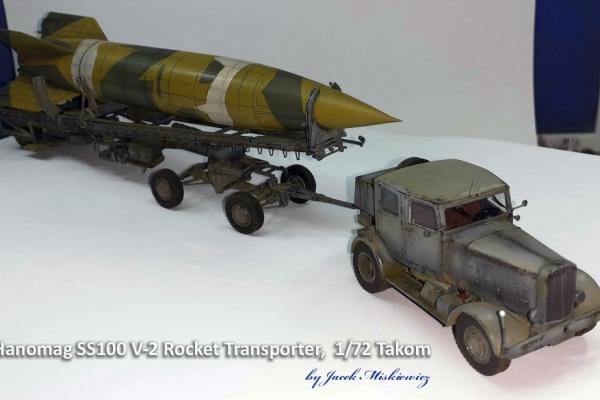 Hanomag SS100 V-2 Rocket Transport