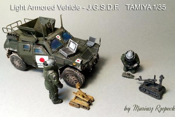 Light Armored Vehicle-J.G.S.D.F.