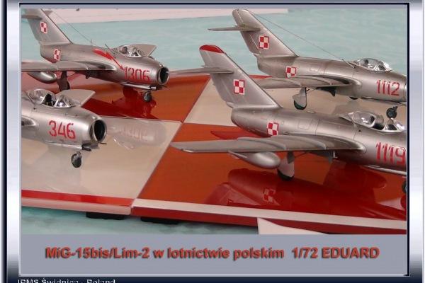 MiG-15bis/Lim-2 w lotnictwie polskim-kolekcja