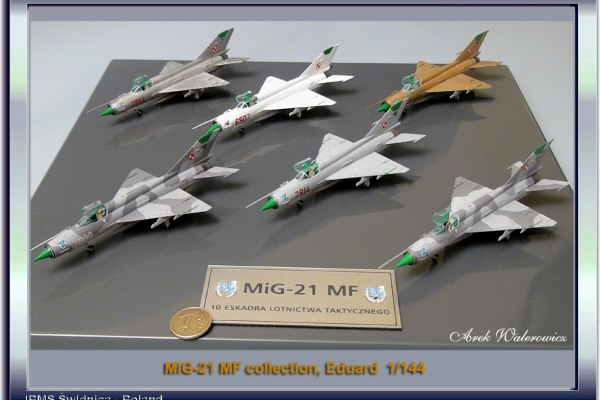 MiG-21 MF collection