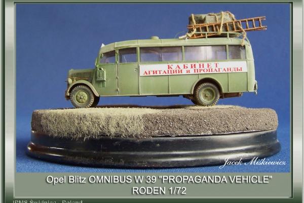"OPEL BLITZ ""OMNIBUS"" W39"