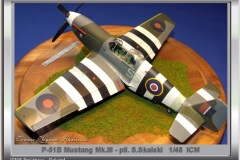 P-51B Mustang Mk.III- pil.S.Skalski