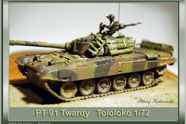 PT-91 TWARDY 1/72