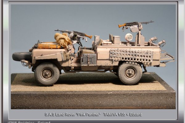 """S.A.S. Land Rover """"Pink Panther"""""""