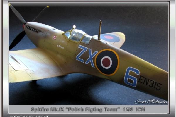 "Spitfire Mk.IX- \""PFT\""ZX-6"