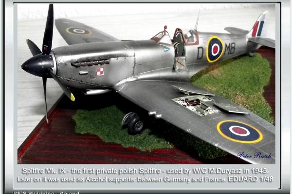 Spitfire Mk. IX W/C M.Duryasz