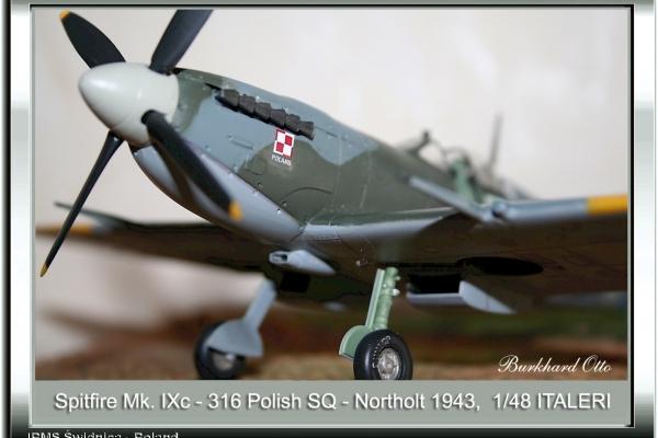 Spitfire Mk.IXc-316 Polish Squadron
