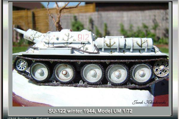 Su-122 winter 1944