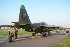 Su-25 UB Ukrainian Air Force