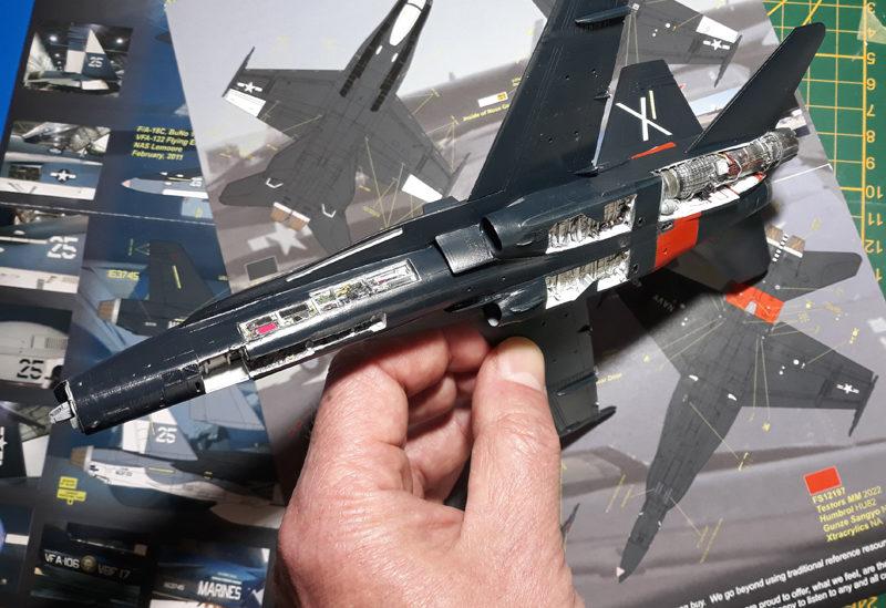 F-18A Hornet, 1/72 Hasegawa